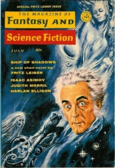 Fritz Leiber auf dem Cover des Magazine of Fantasy and Science Fiction