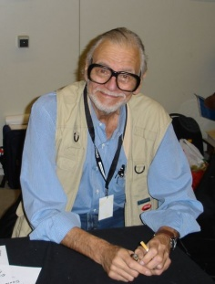 George A. Romero beim Weekend of Horrors 2005 in Münster